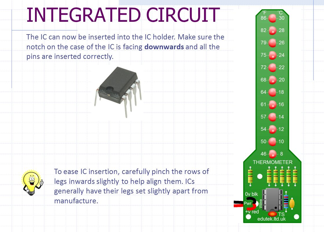 Thermometer Project Pcb Assembly Instructions Ppt Download How To Make Integrated Circuits Circuit