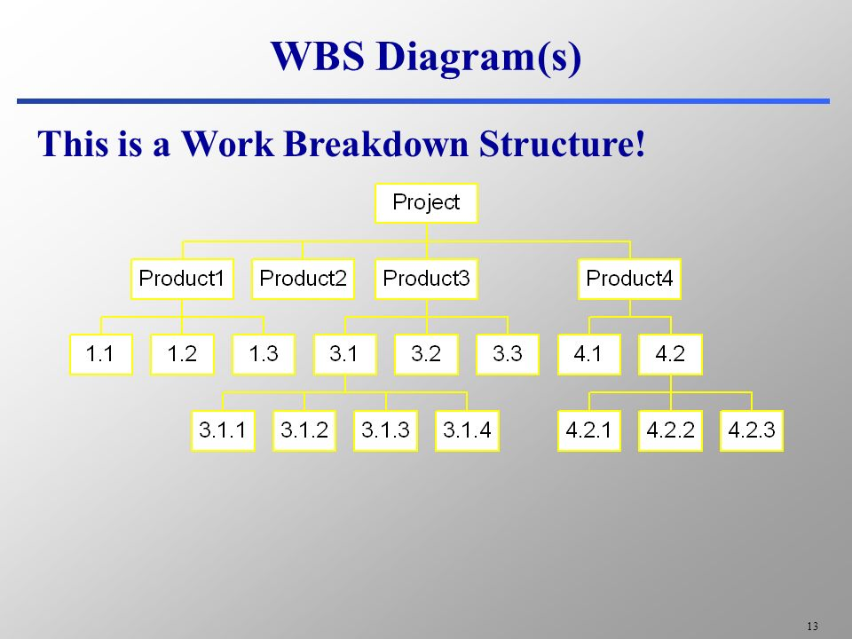 Wbs Tree Diagram Wiring Diagram For Professional