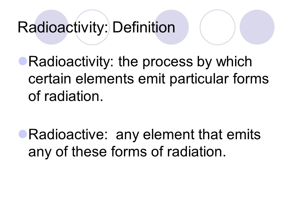Radioactive dating definition in Brisbane