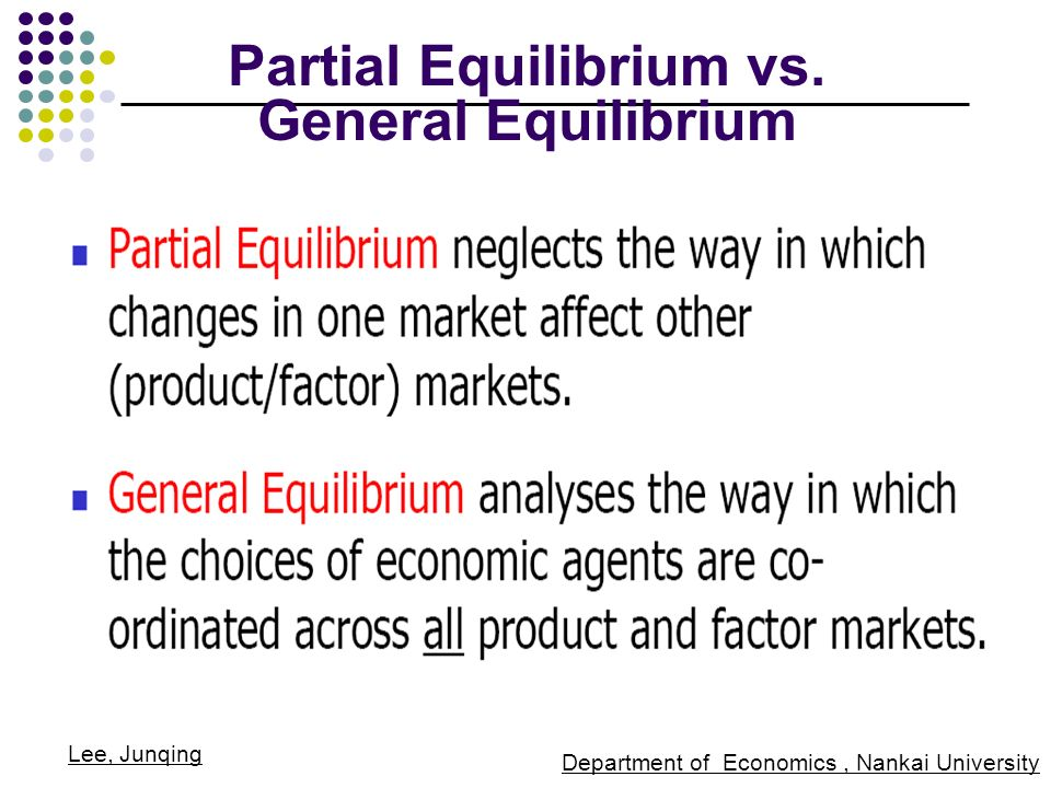 Ppt general equilibrium theory powerpoint presentation id:246709.