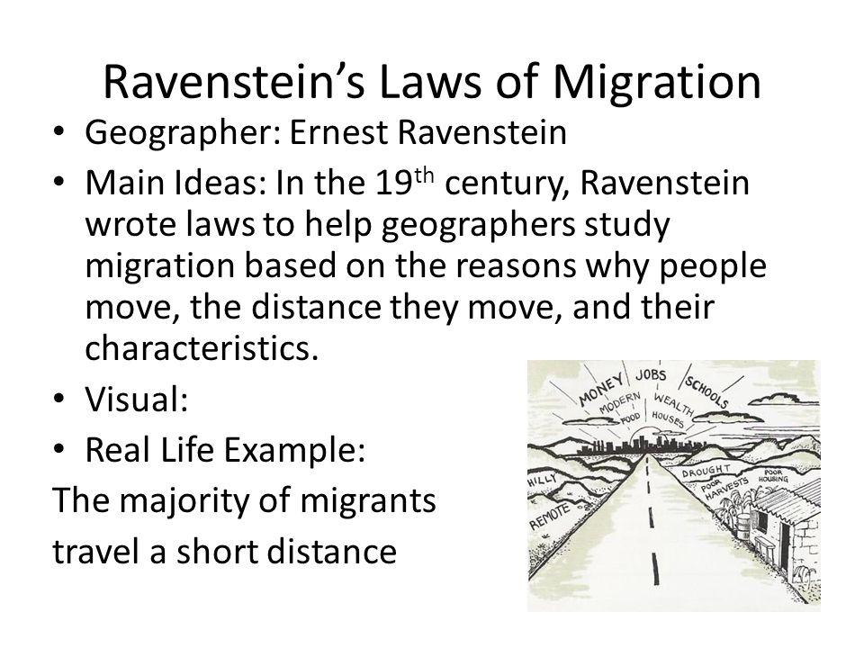 ravensteins laws
