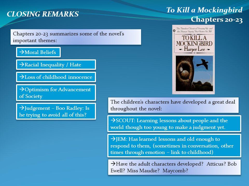 to kill a mockingbird summary sparknotes