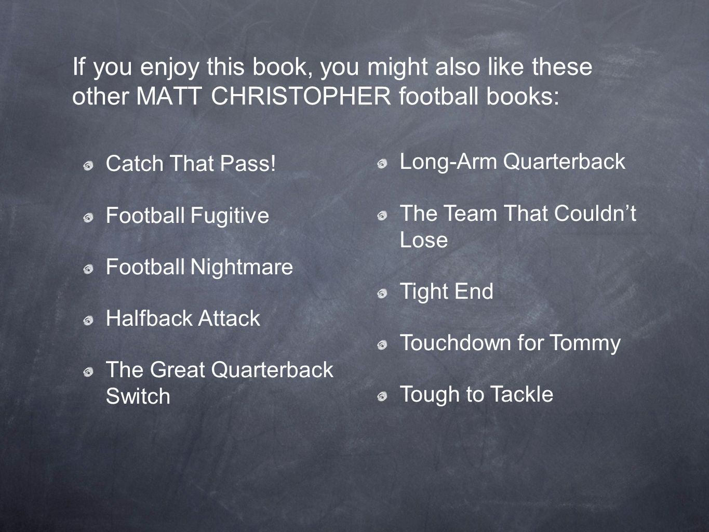 halfback tough book