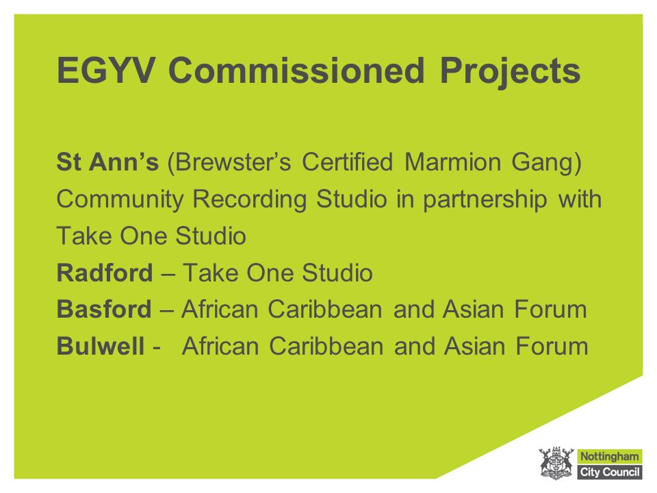 Vanguard plus nottingham city council ending gang and youth 9 egyv commissioned projects malvernweather Image collections