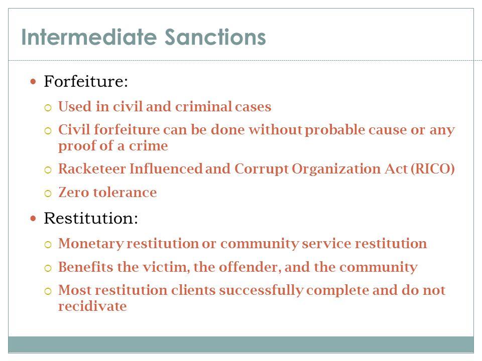 benefits of community service for criminals