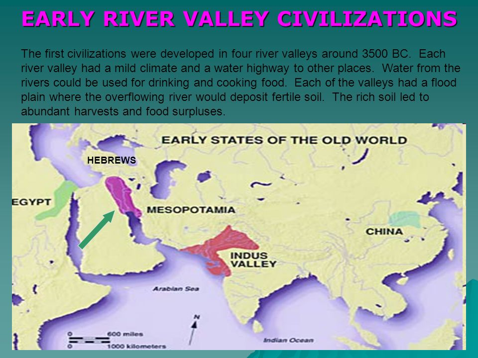 Early River Valley Civilizations Map D A B C Label the following River Valley Civilizations on the map