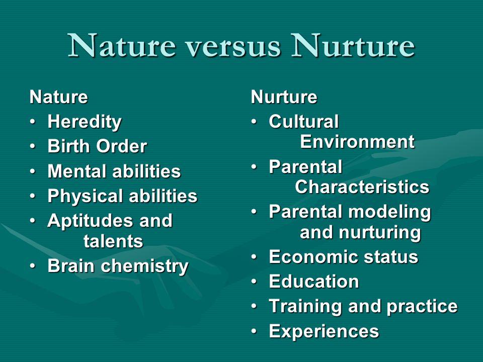 nature vs nurture conclusion