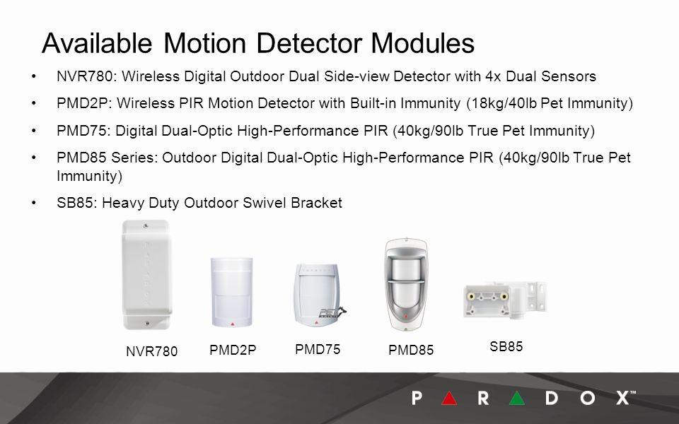 PMD85 Paradox Series Outdoor Digital Dual-Optic High-Performance PIR