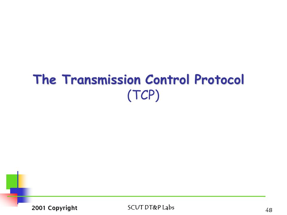 the principle of tcp  ip