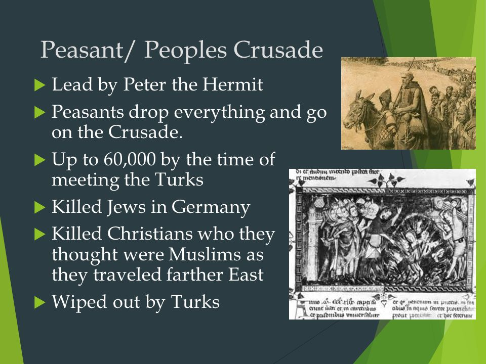 Peasant/ Peoples Crusade