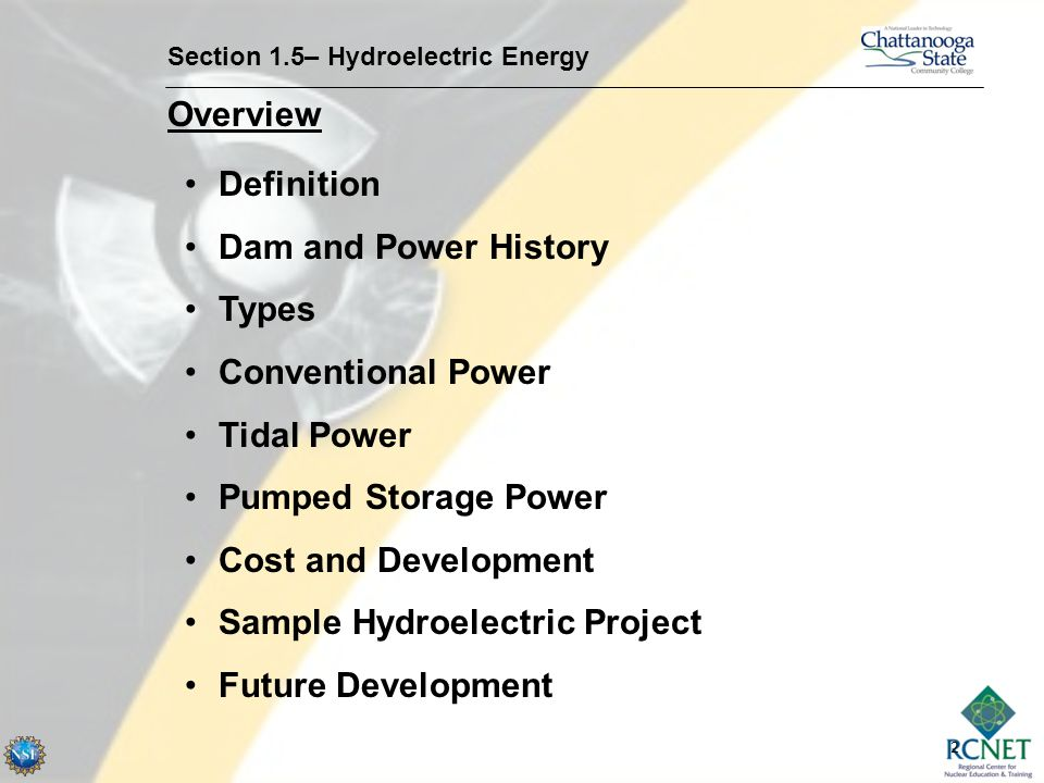 power plant construction and qa qc section 1 5 hydroelectric energy