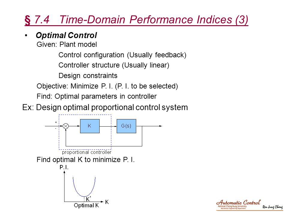 § 7.4 Time-Domain Performance Indices (3)