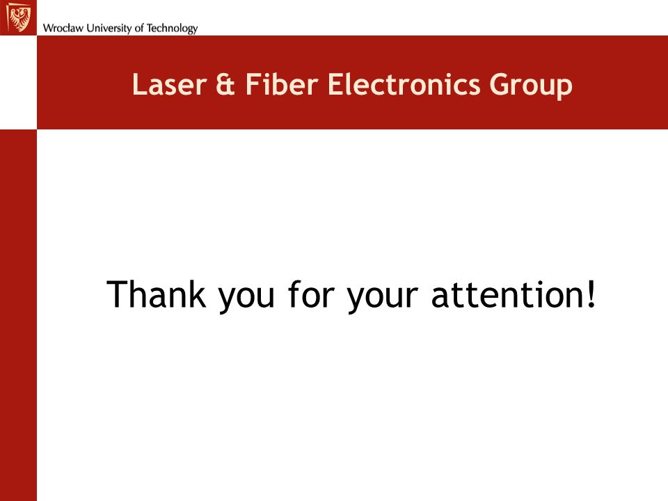 Laser & Fiber Electronics Group