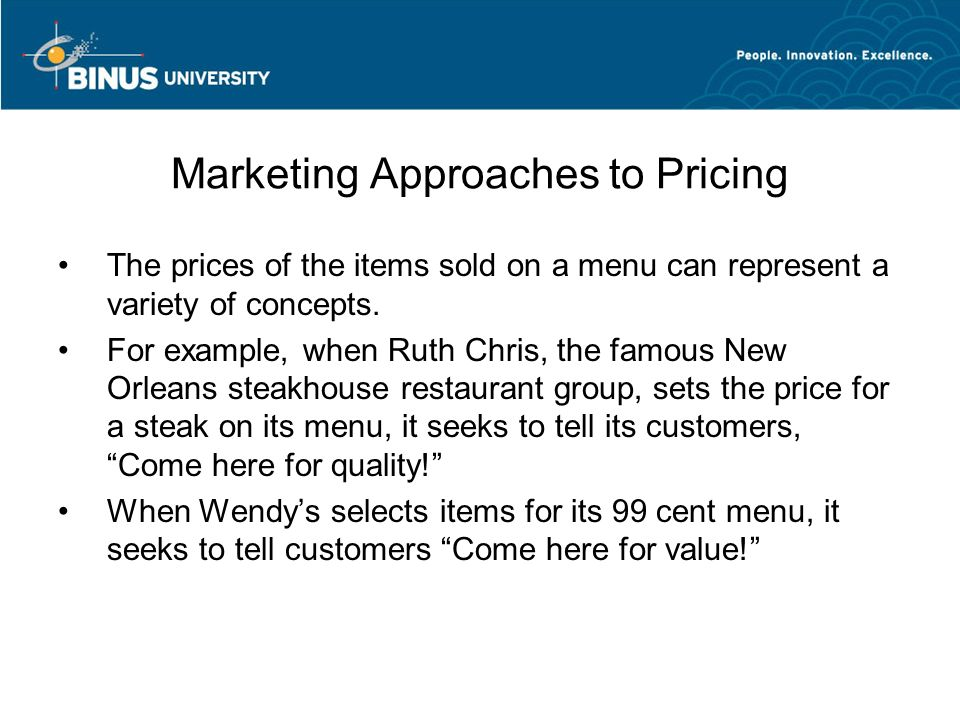 11 Marketing Approaches To Pricing