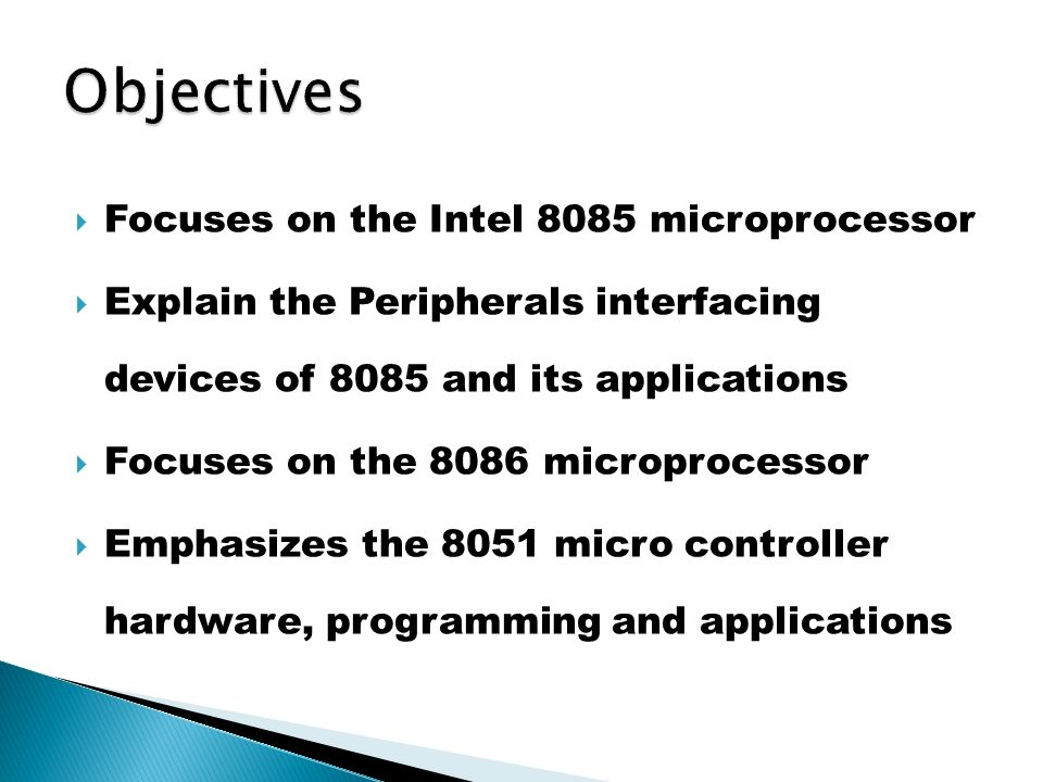 MICROPROCESSOR AND MICRO CONTROLLER - ppt video online download