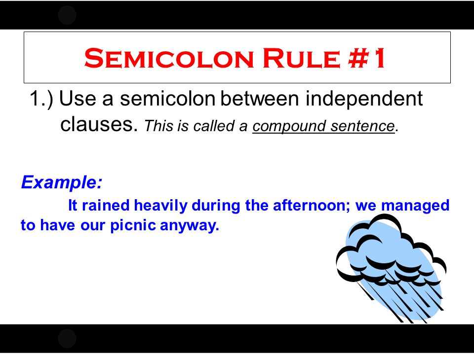 Punctuation Rules Commas Colon Semicolon Adapted From Ms Fulmer