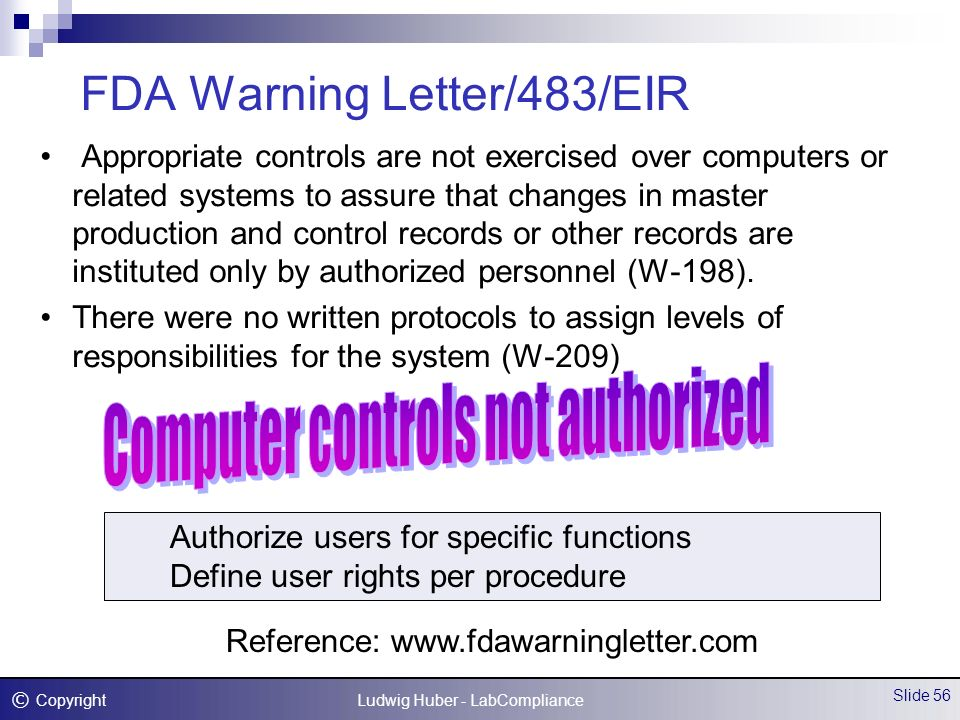 lunesta fda warning letter