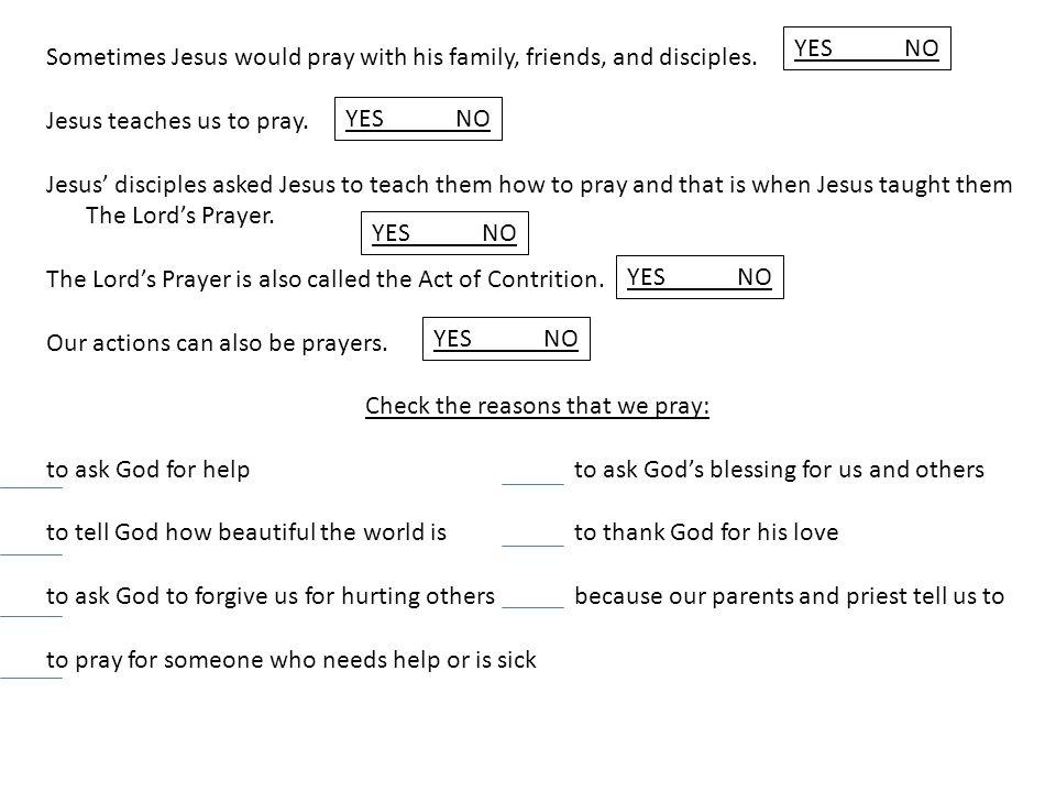 Prayer keeps us close to God  - ppt download