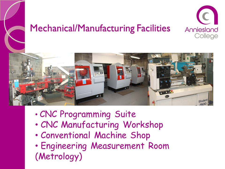 Mechanical/Manufacturing Facilities