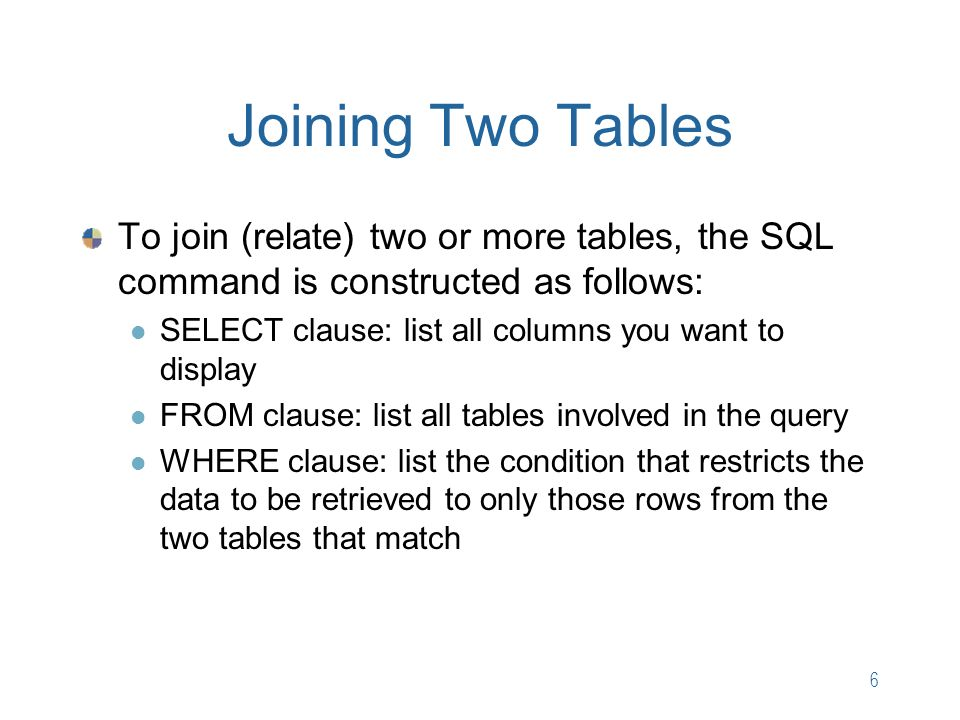 Chapter 4 Multiple-Table Queries - ppt video online download