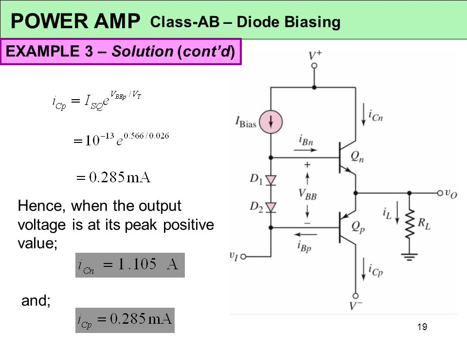 emt 112 4 analogue electronics 1 power amplifiers syllabus ppt rh slideplayer com