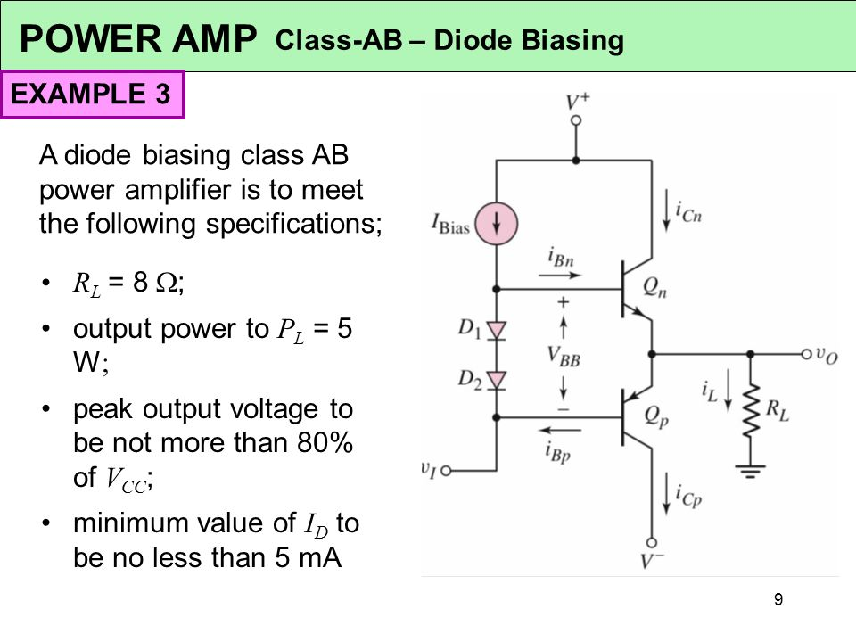 EMT 112/4 ANALOGUE ELECTRONICS 1 Power Amplifiers Syllabus
