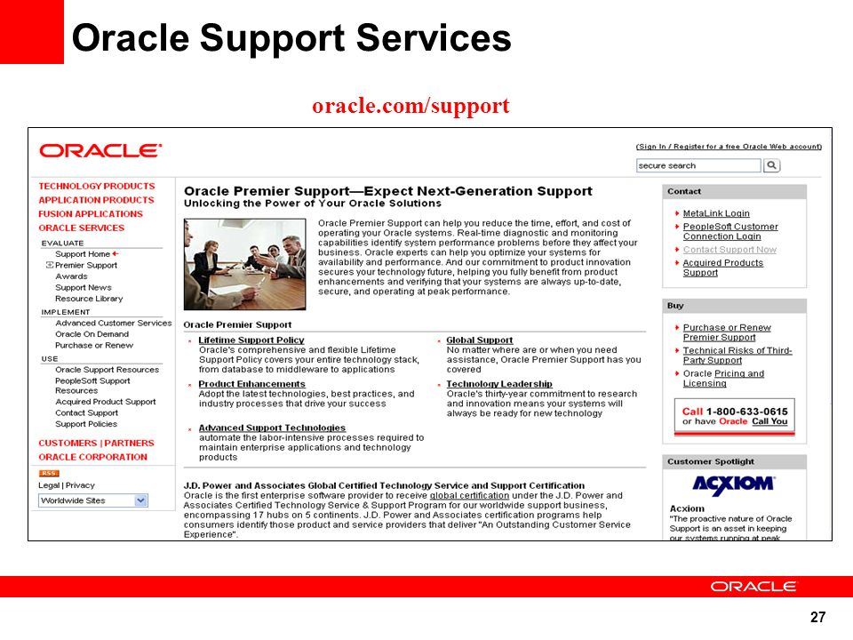 Working Effectively with Oracle Support - ppt video online