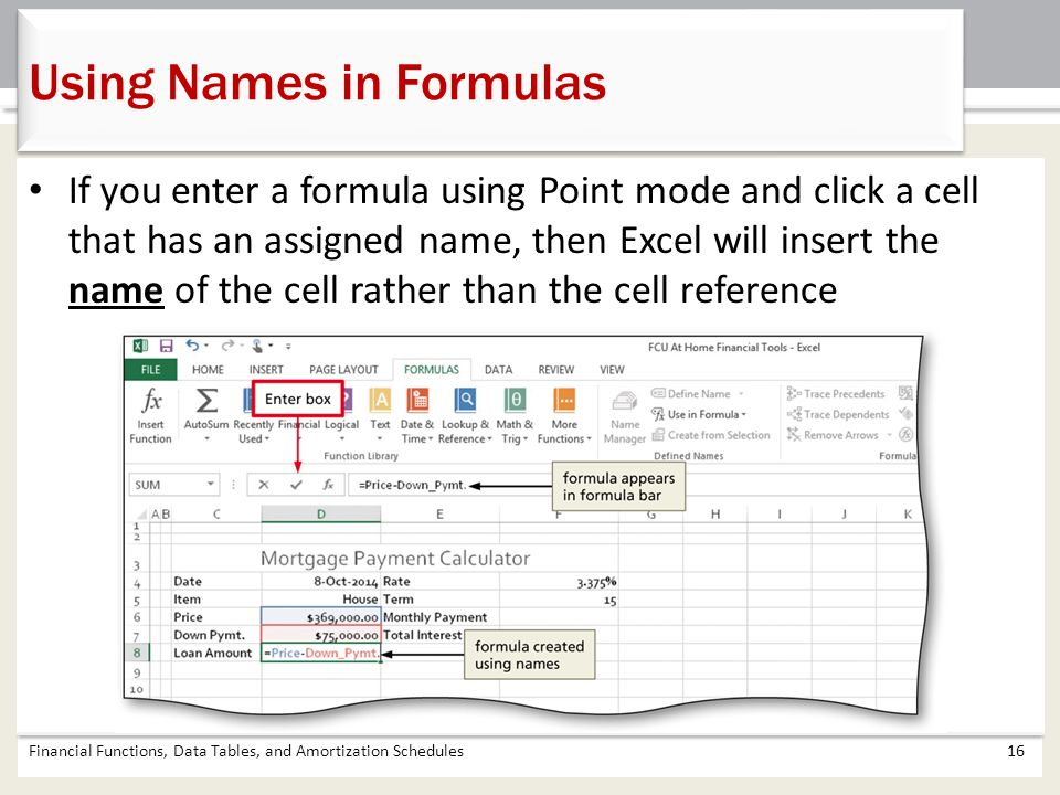 chapter 4 financial functions data tables and amortization