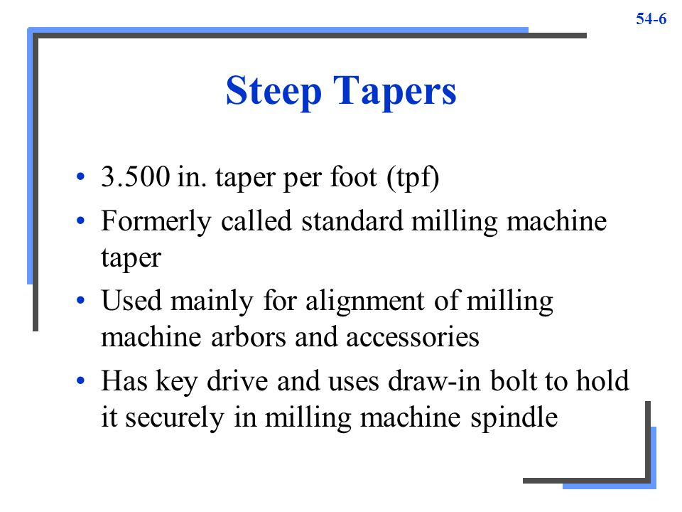 Tapers And Taper Turning Ppt Video Online Download