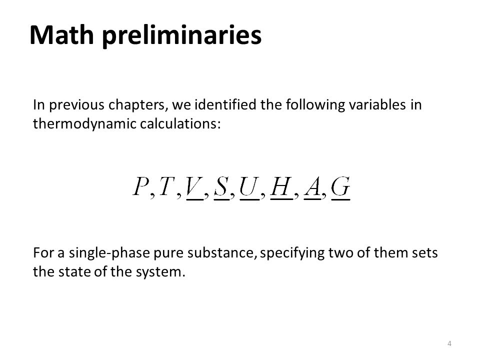 Chapter 6 The Thermodynamic Properties Of Real Substances
