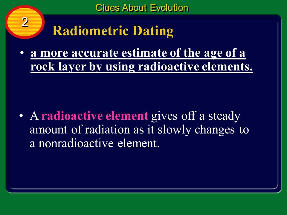 Radiometric dating more accurate