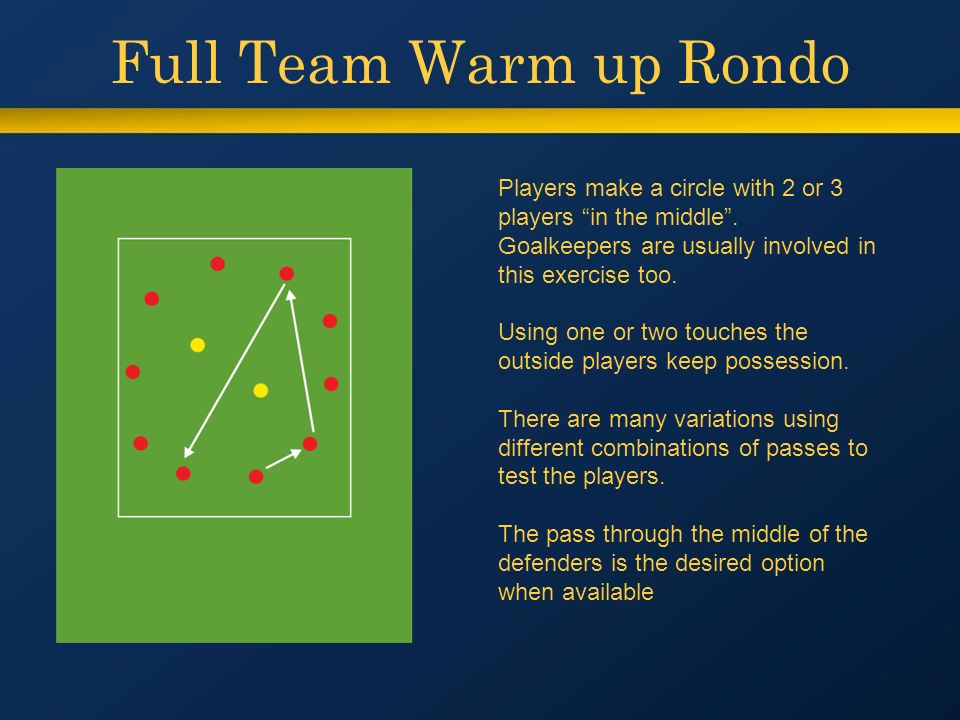 Rondos How to use Spain's secret weapon - ppt video online download