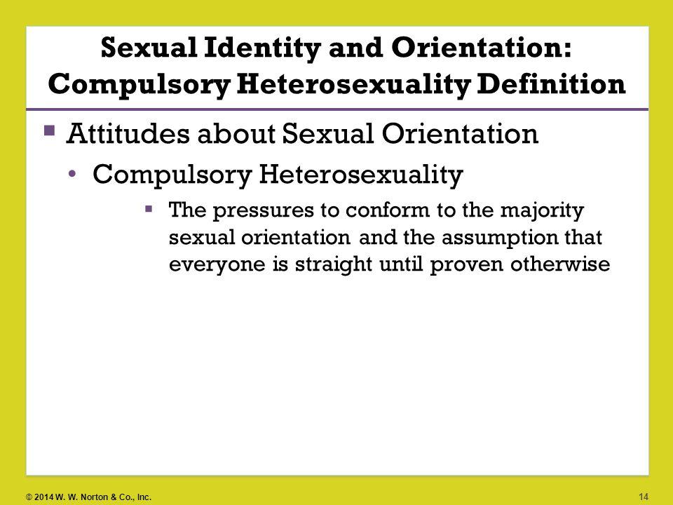 compulsory sexuality