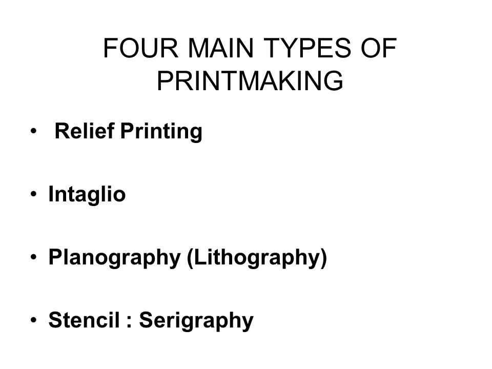 PRINTMAKING & CERAMICS - ppt video online download