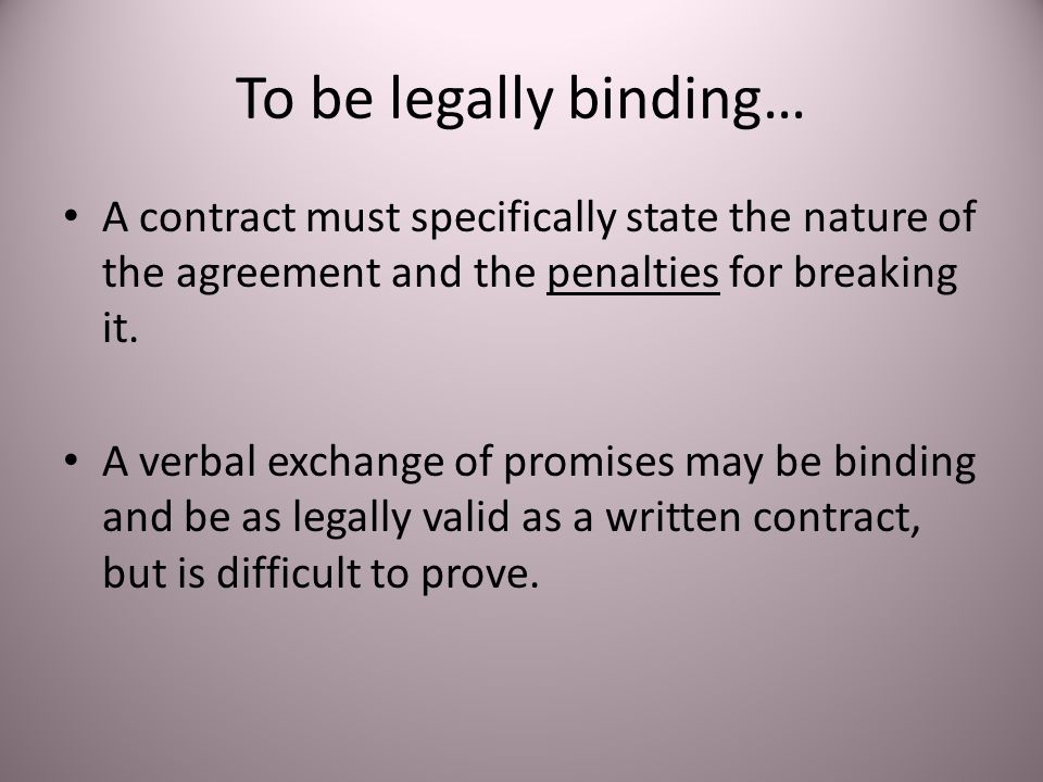 Contracts And Agreements Ppt Video Online Download