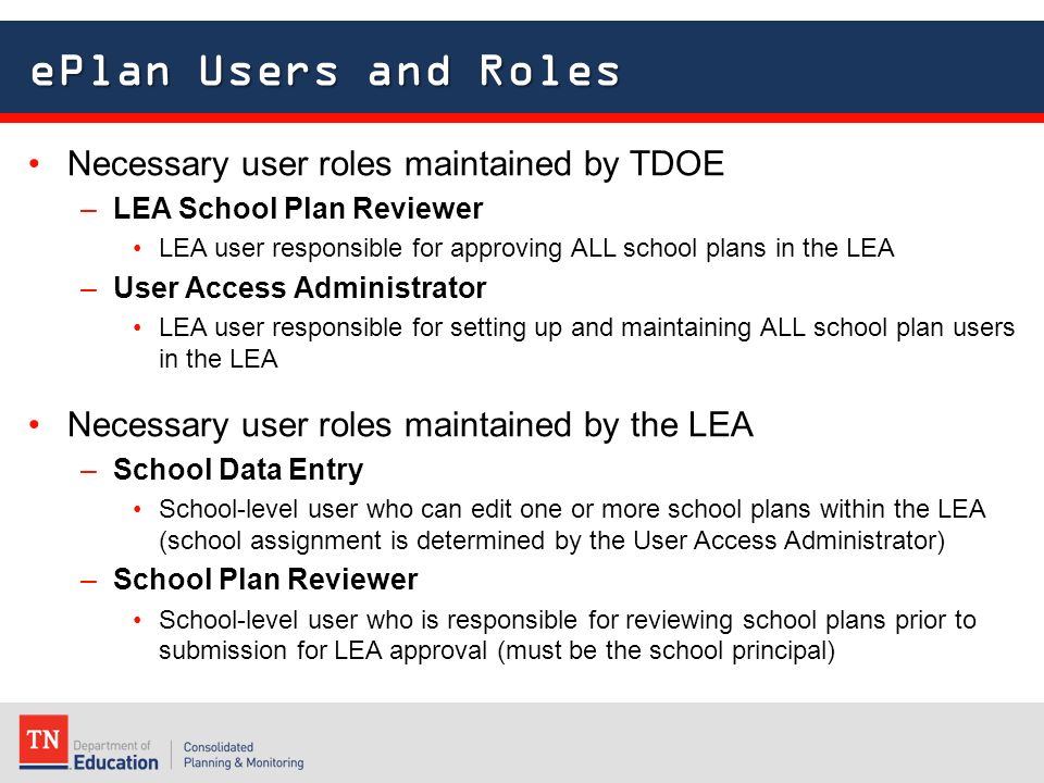 Implementing School Plans in ePlan - ppt video online download