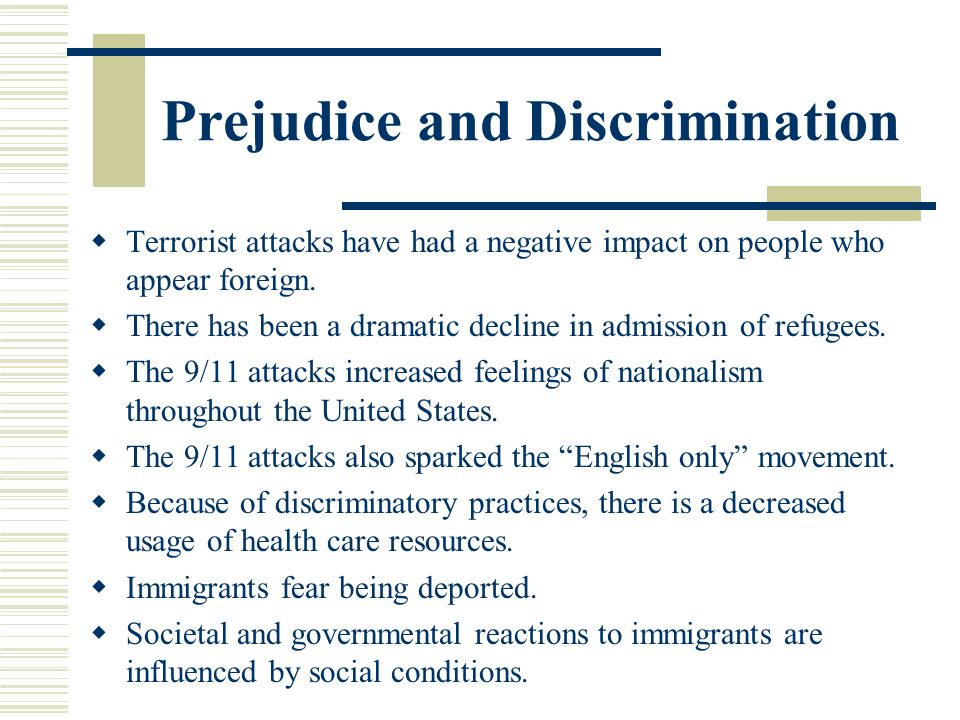 prejudice and discrimination in crash While many forms of prejudice are troubling, not all forms of prejudice are equally consequential those that beget structural inequalities, like prejudices based on gender, sexuality, race, nationality, and religion, for example, are very different in nature from others.