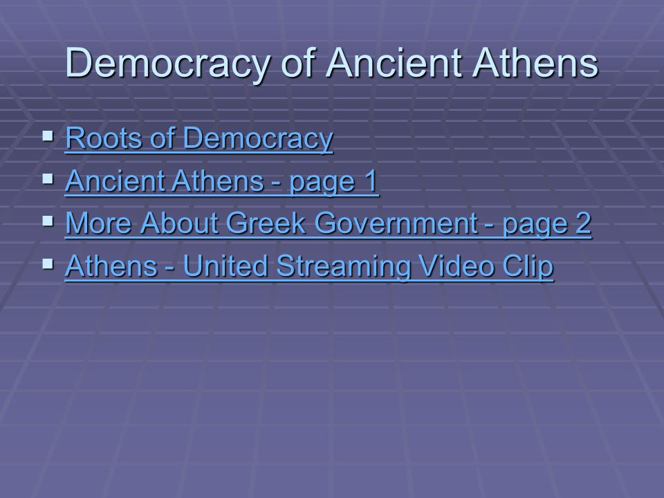 Democracy in Ancient Greece and Rome - ppt video online download