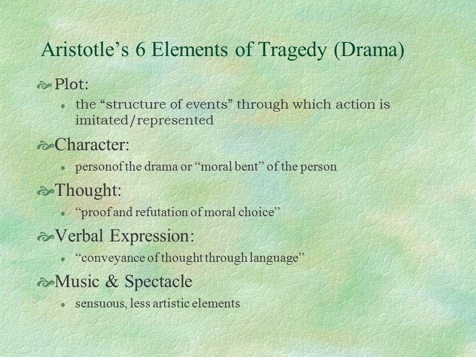 Elements Of Tragedy Drama