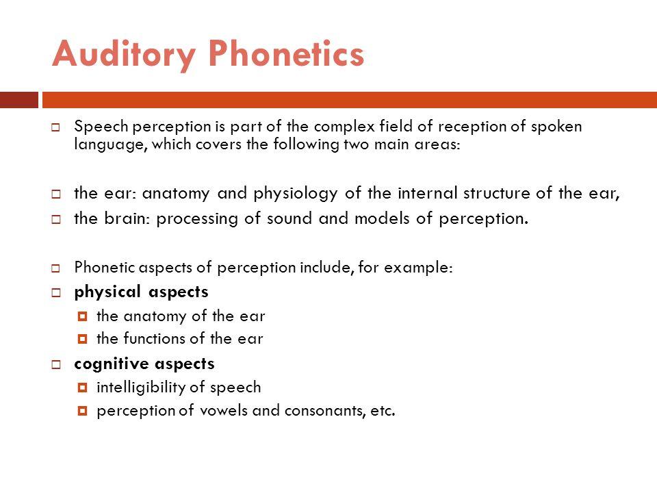 Phonetics 2 Dr Ansa Hameed Ppt Video Online Download