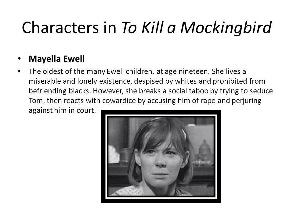 to kill a mockingbird and tom Certain uncanny resemblances between tom robinson and boo radley's lives exist in harper lee's to kill a mockingbird often large groups of people misunderstand certain unusual individuals sometimes they stereotype the person other times, they simply do not bother to find out the truth.