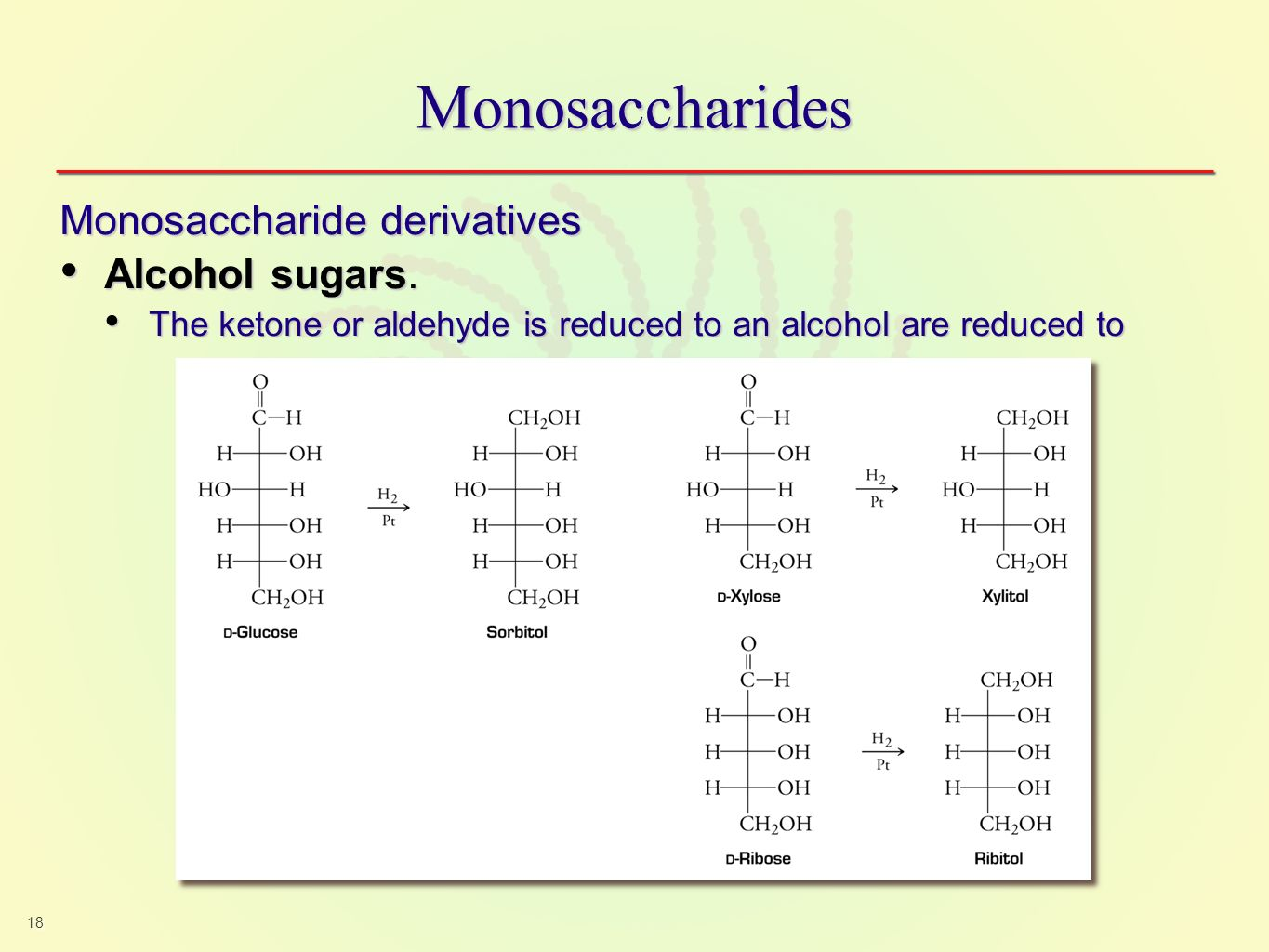 The two families of monosaccharides are aldose and ketoses ppt.