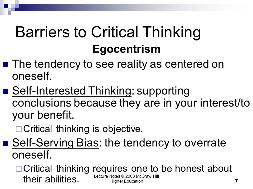 critical thinking in healthcare administration Critical thinking is an essential component of nursing since a nurse is always, by profession, confronted with complex situations, which demand accurate judgments, clinical decision-making and a continuous learning process.