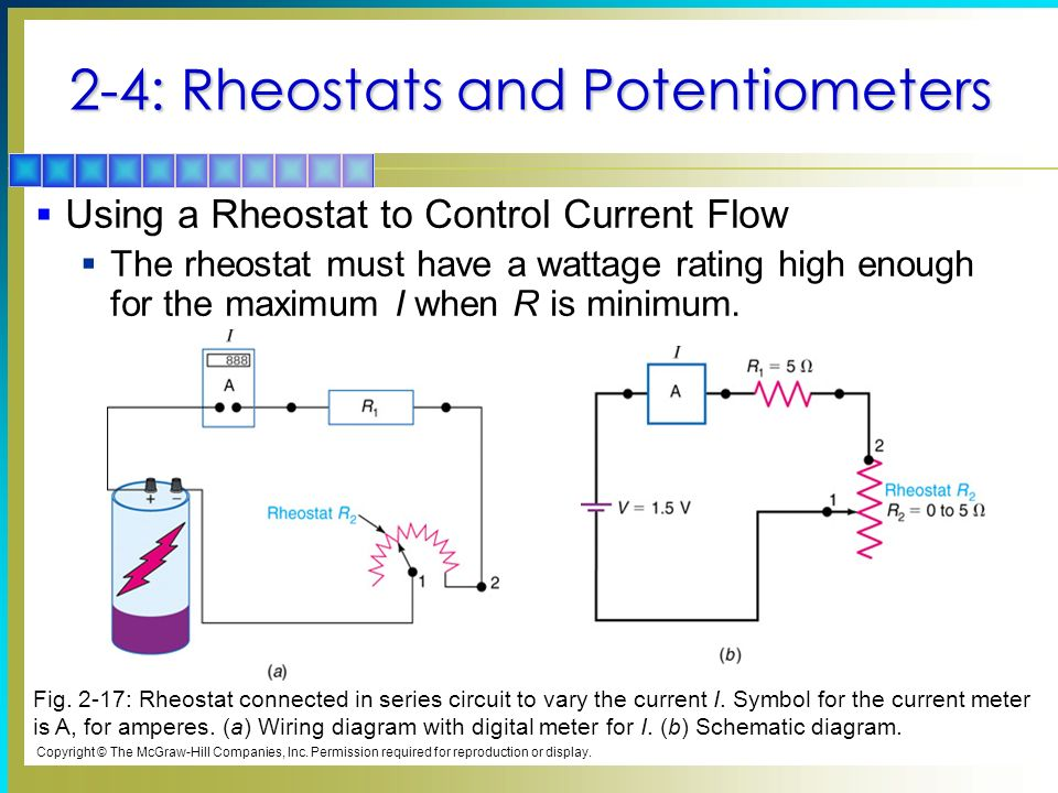 2 resistors chapter topics covered in chapter 2 ppt video online rh slideplayer com eberspacher rheostat wiring diagram lincoln rheostat wiring diagram