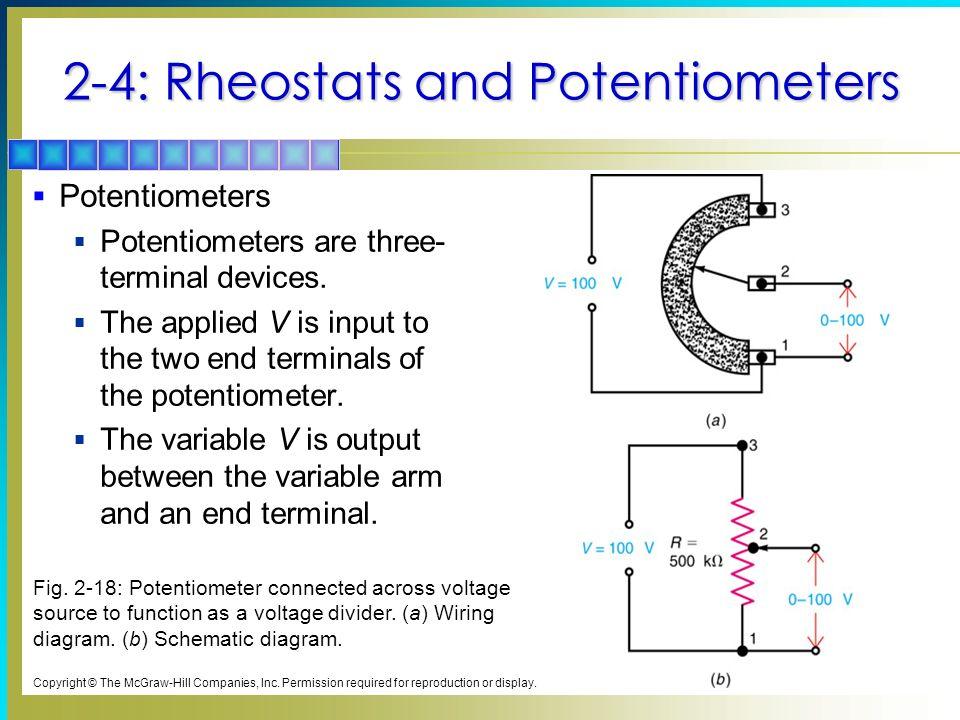 Rheostat Vs Potentiometer Schematic - Electrical Work Wiring Diagram •