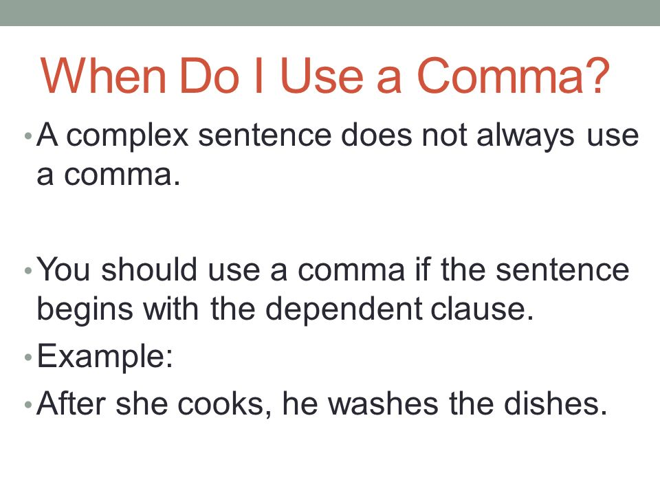 how to use only after in a sentence