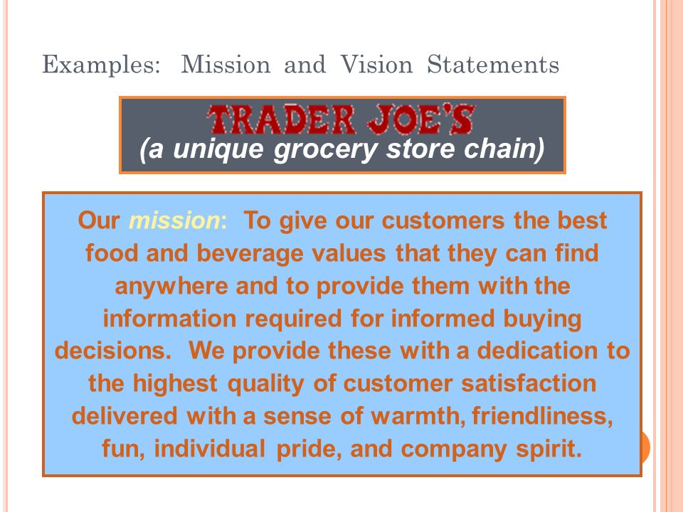 Retail Mission Statement Examples Images Example Cover Letter For