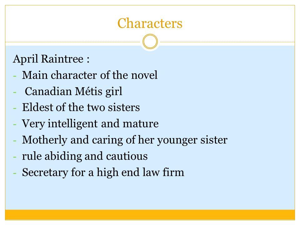 april raintree chapter summary