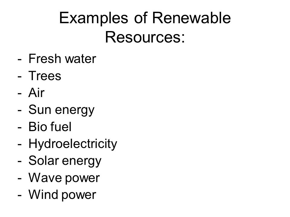 aim-why should we use renewable resources? - ppt download