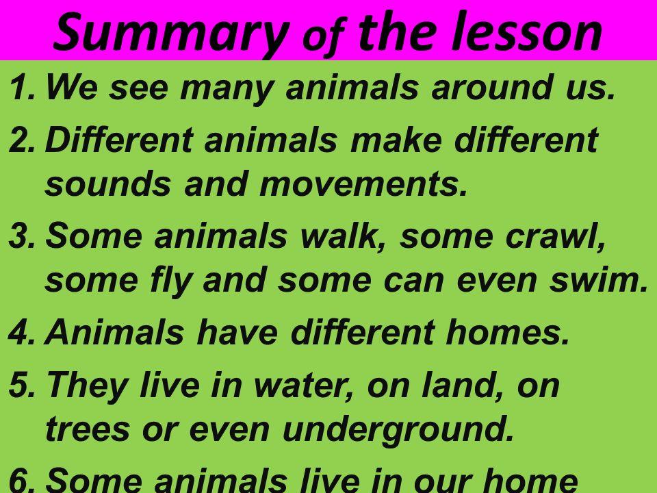 Resultado de imagen de animals around us